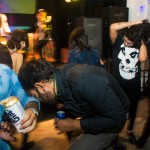Slam Dance at Them Howling Bones Record Release
