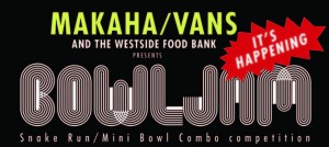 Makaha Bowl Jam and Food Drive 2014