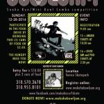 Makaha Bowl Jam and Food Drive 2014