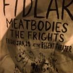 FIDLAR bootleg tee- back