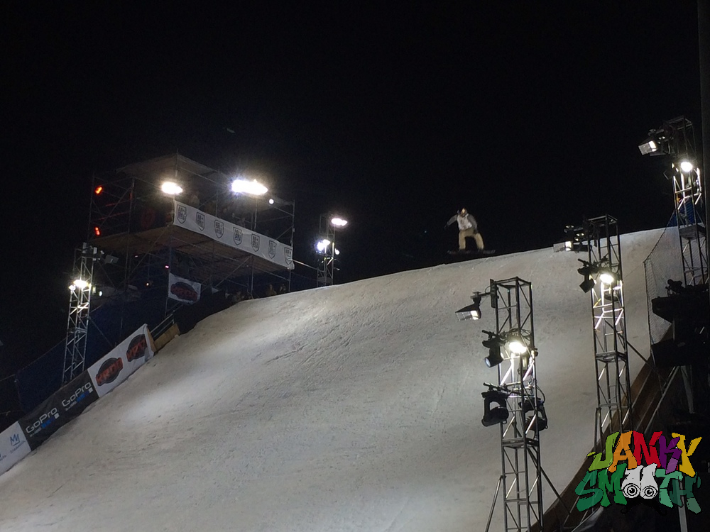 Snowboard Comp at Air + Style