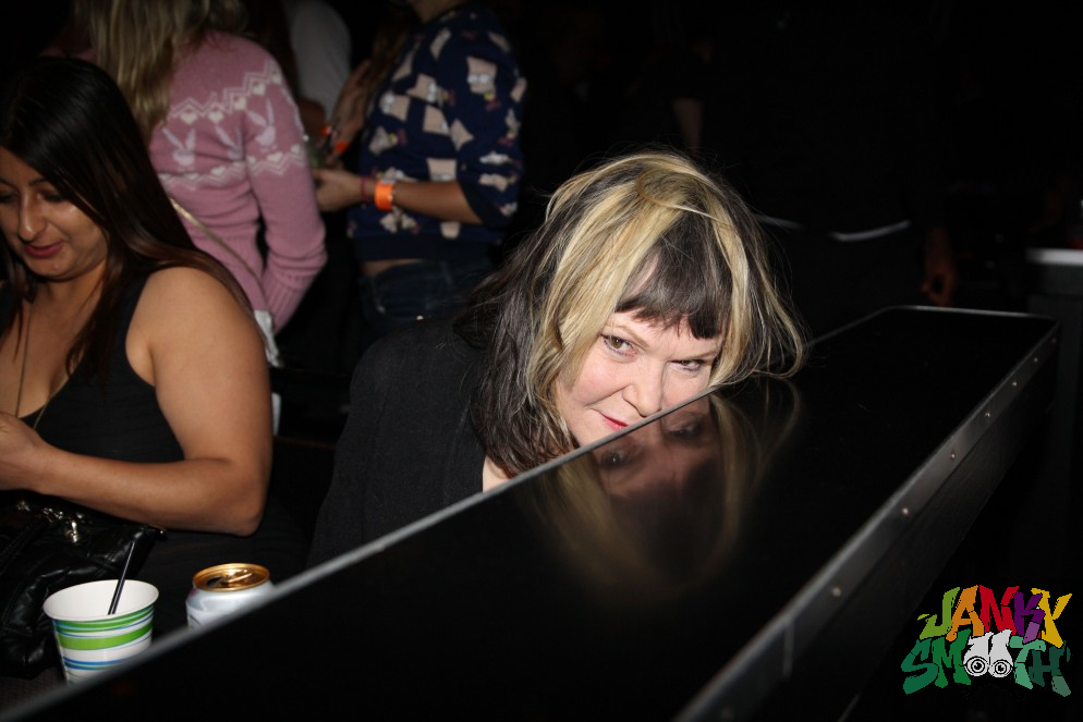 Exene at Babes in Toyland