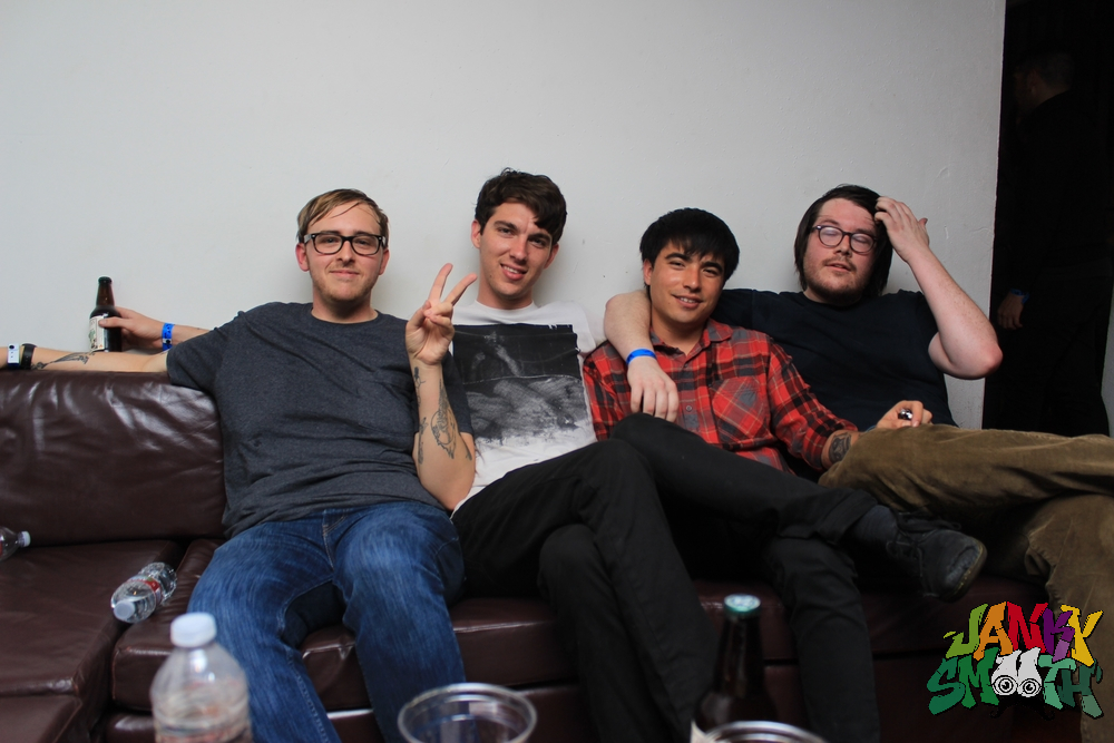 Joyce Manor Backstage