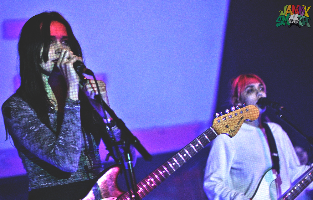 Warpaint at their YAAAASS! benefit