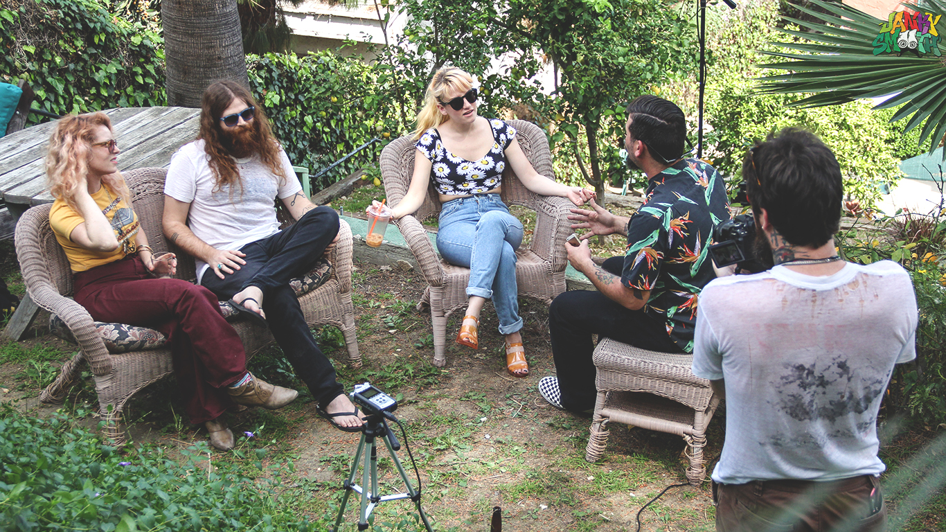 Deap Vally- Janky Smooth Sessions
