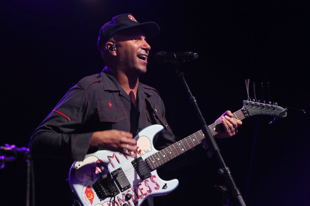 Tom Morello at the Concert For Social Justice