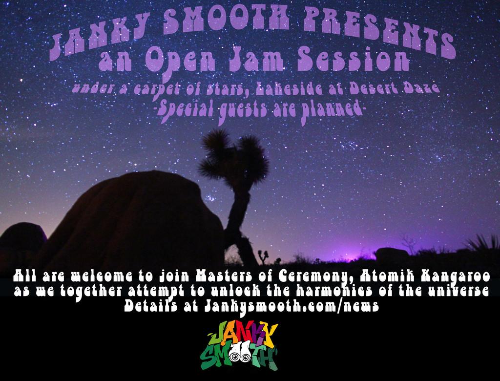 Janky Smooth Jam Lounge at Desert Daze