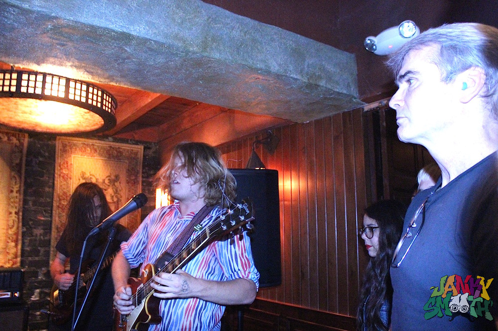 Ty Segall Performs as Henry Rollins Observes