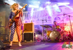 Deap Vally at Echo Park Rising by Mitch Livingston