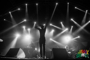 Death Grips at FYF shot by Taylor Wong