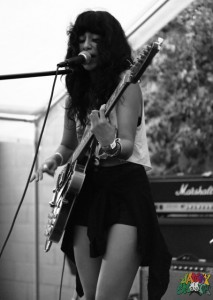 LA Witch at Echo Park Rising by Mitch Livingstong