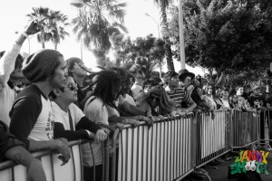 The Crowd for Mr Elevator at Echo Park Rising by Taylor Wong