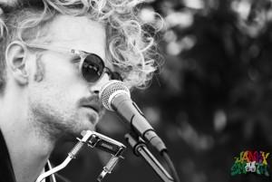 Paul Bergmann at Echo Park Rising by Mitch Livingston
