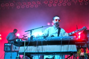 Hot Chip's Alexis Taylor at The Greek Theater