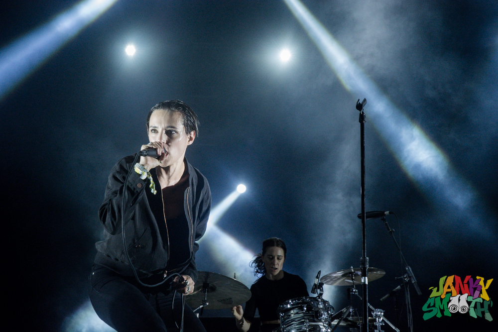 Savages at FYF by Taylor Wong