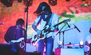 Psychedelic Visuals for Tame Impala at Hollywood Forever Cemetery