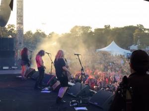 L7 at Riot Fest Chicago 2015 by Danny Baraz
