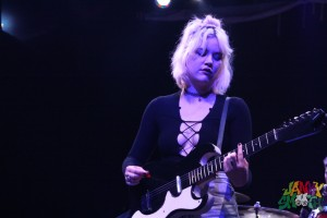 Jennifer Clavin of Bleached at Burger-a-go-go