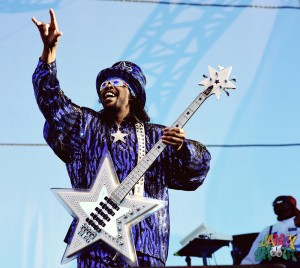 Bootsy Collins at Riot Fest Chicago 2015