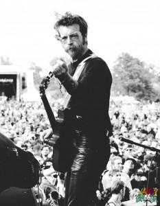 Jesse Hughes of Eagles of Death Metal at Riot Fest Chicago 2015