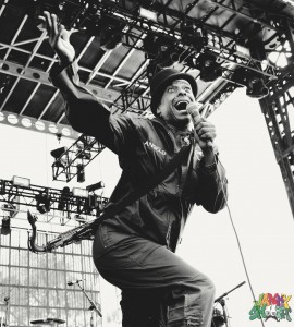 Angelo of Fishbone at Riot Fest Chicago 2015