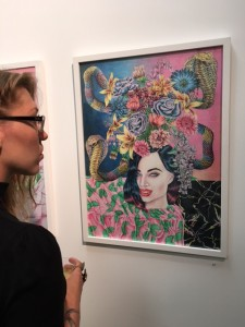 Cahill Wessel Opening at Carlos Queso Gallery in Echo Park