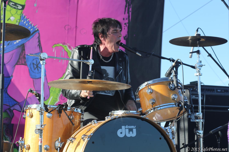 Richie Ramone at Hi-Fi Rockfest