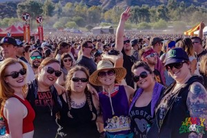 Fans at It's Not Dead Fest