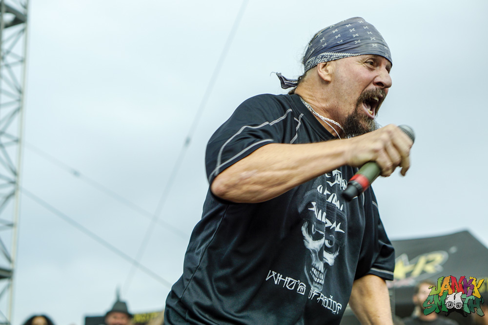 Mike Muir of Suicidal Tendencies by Josh Allen