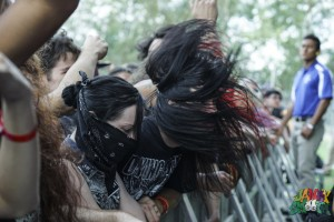 Headbangers at Knotfest by Josh Allen