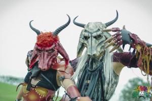 Knotfest Demons by Josh Allen