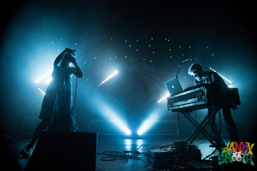 Sylvan Esso at The Fonda for 30 Days In L.A. shot by Taylor Wong