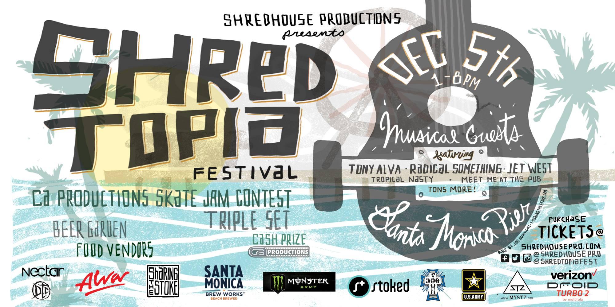 shredtopia flyer