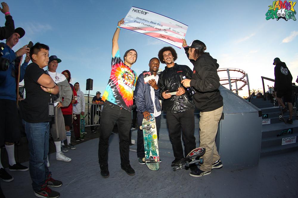 Top Three Skaters at Shredtopia