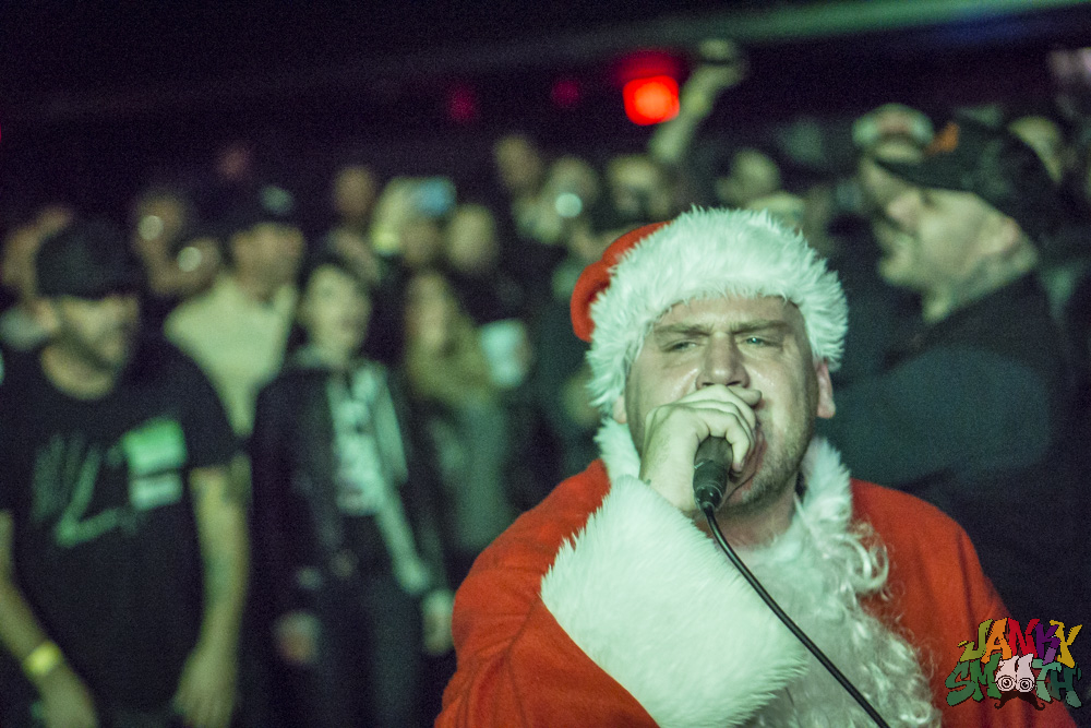 The Bronx White Drugs Xmas at The Teragram Ballroom by Josh Allen