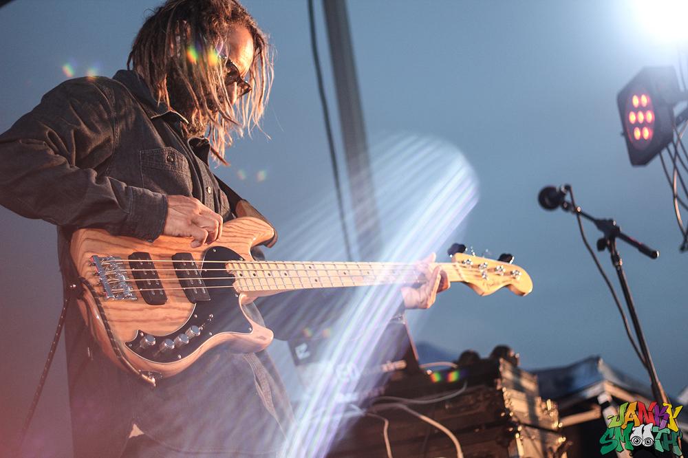 Tony Alva with his band, His Eyes Have Fangs at Shredtopia