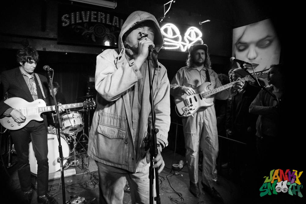 Ty Segall and The Muggers Warm Up Gig at Silverlake Lounge