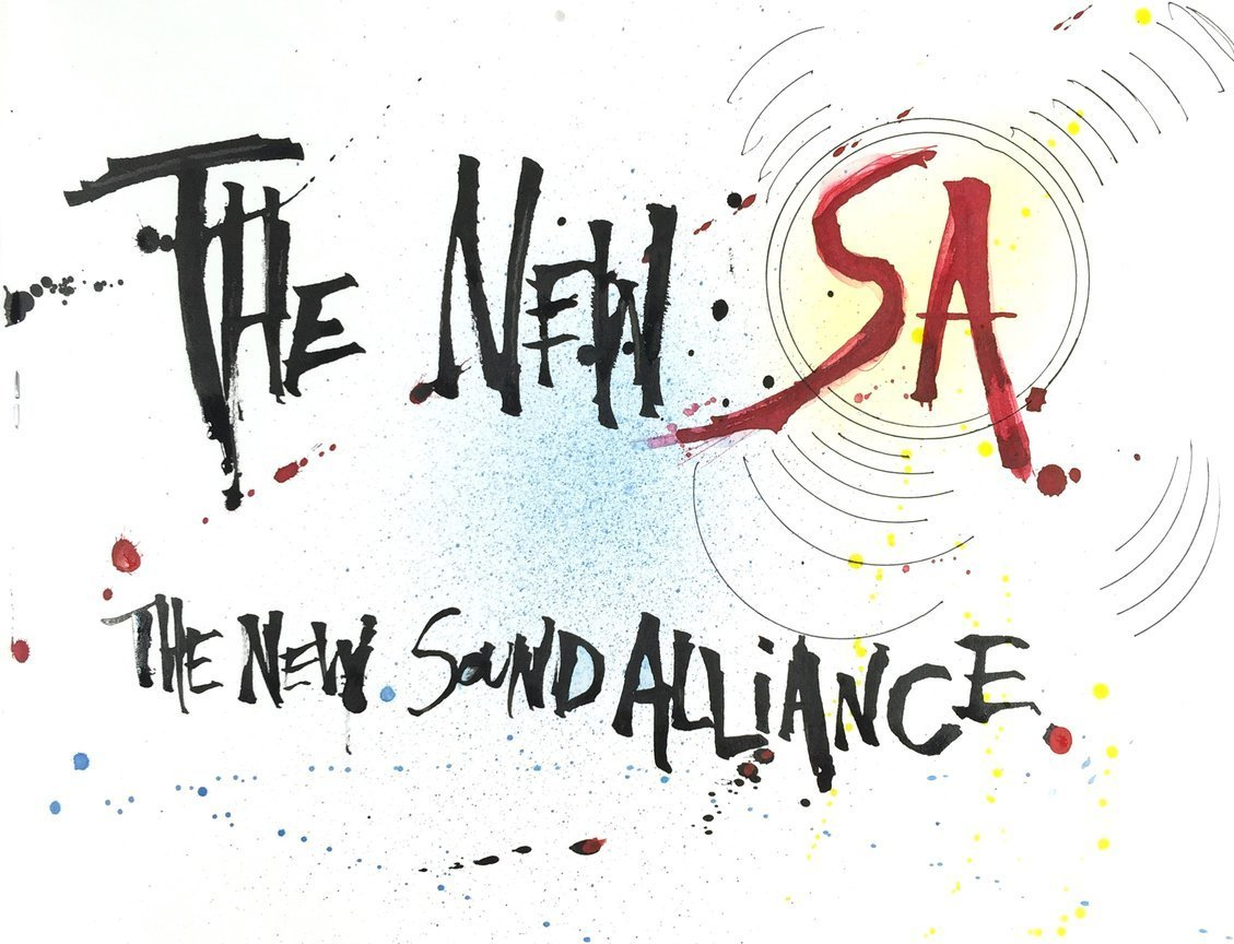 The New S.A.- The New Sound Alliance- art by Joey Feldman