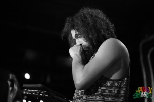 The Gaslamp Killer opening for Questlove at Globe Theatre