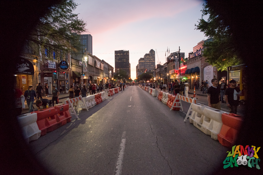 SXSW 2016 6th Street Sunset