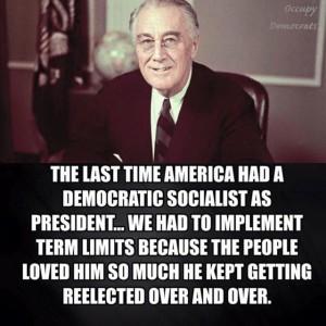 FDRdemocraticsocialist
