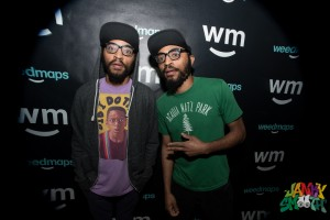 Lucas Brothers at Loud Village SXSW event sponsored by Weed Maps