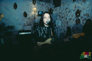 Laena of FEELS at Record Release Party by Johnny Ramos