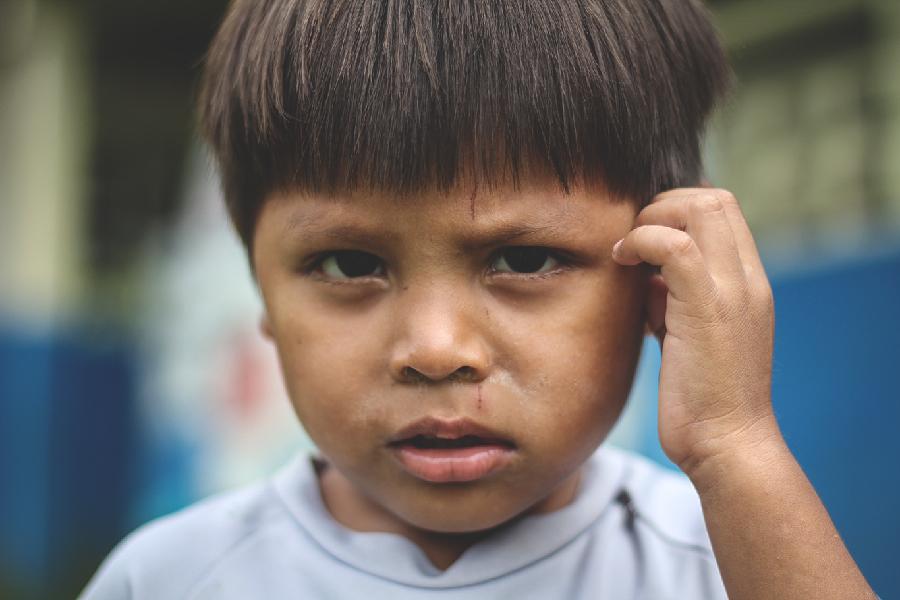 Panamanian Child shot by David Evanko