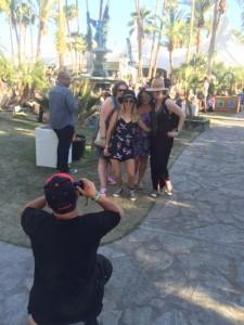 Coachella group photos