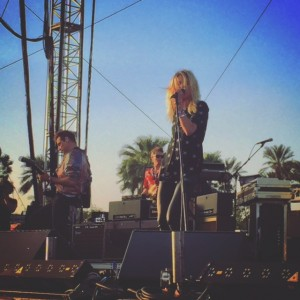 The Kills at Coachella