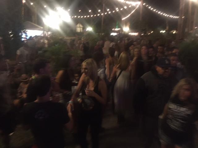 """""""VIP"""" Beer Garden at Coachella"""