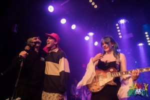 Member of No Parents join Bleached on stage at The Teragram