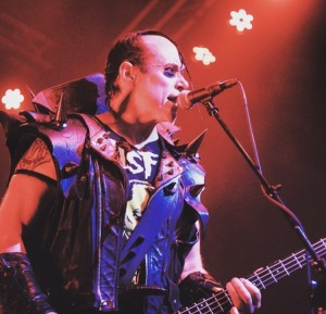 Jerry Only w/ Misfits in 2015 shot by Oscar Diaz