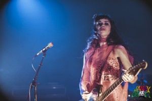 Teri Gender Bender of Le Butcherettes by Josh Allen